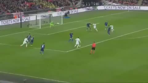 Dele Alli goal vs USA 18-19
