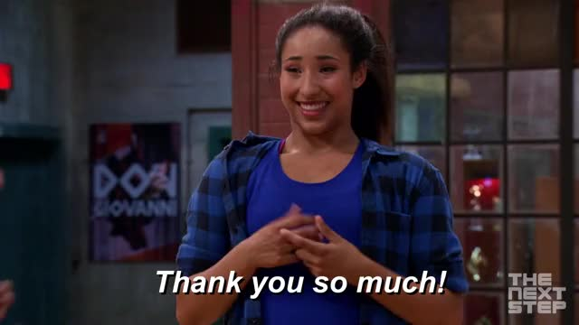 Watch this thanks GIF by THE NEXT STEP (@thenextstep) on Gfycat. Discover more thank you, thanks, tns GIFs on Gfycat