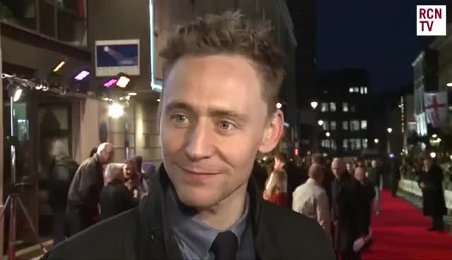 Watch and share Tom Hiddleston Joke GIFs on Gfycat