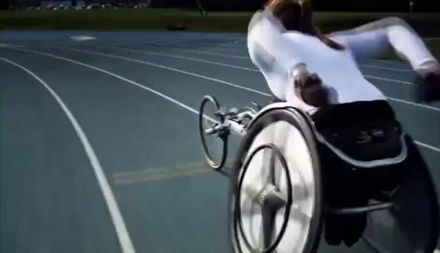 Watch and share Paralympics GIFs and Wheelchair GIFs on Gfycat