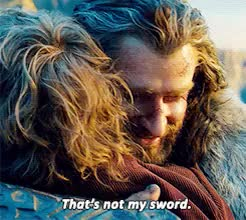 Watch view GIF on Gfycat. Discover more 1k, bagginshield, bilbo baggins, i'm going to hell for this, newgifs, otp: you will be the end of me, the hobbit, thorin oakenshield GIFs on Gfycat