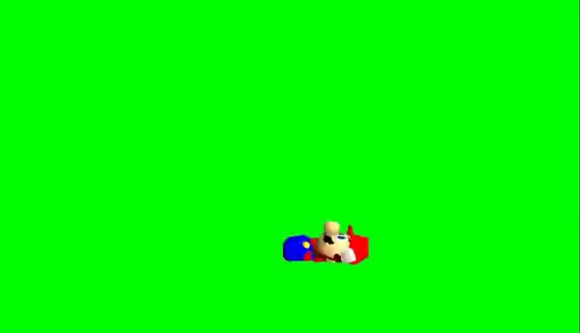 Watch and share Mario Spazes- Greenscreen GIFs on Gfycat