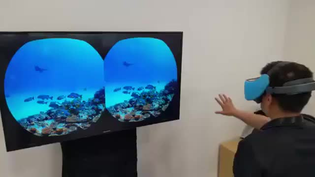 Watch Vive Focus Hand Gesture Recognition - Preview GIF on Gfycat. Discover more related GIFs on Gfycat