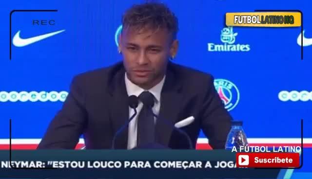 Neymar, Presentación Neymar en el PSG: