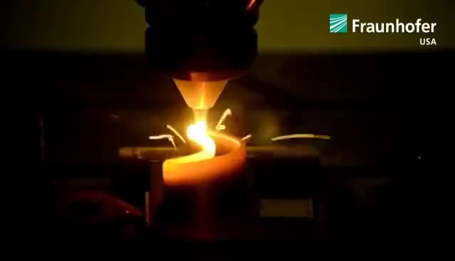 Watch and share Laser Additive Manufacturing Of Turbine Blade Demonstrator GIFs on Gfycat