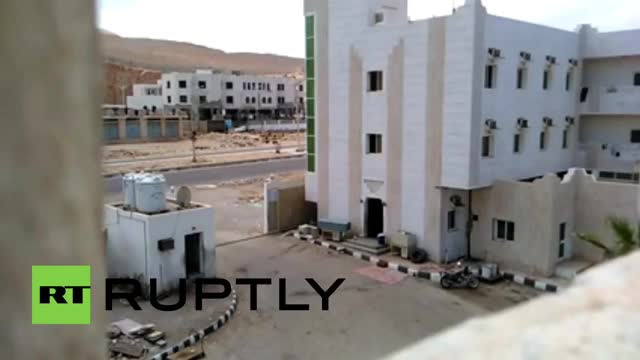 Watch and share Explosion Destroys Security Facility In Hadramaut, Yemen. (reddit) GIFs by forte3 on Gfycat