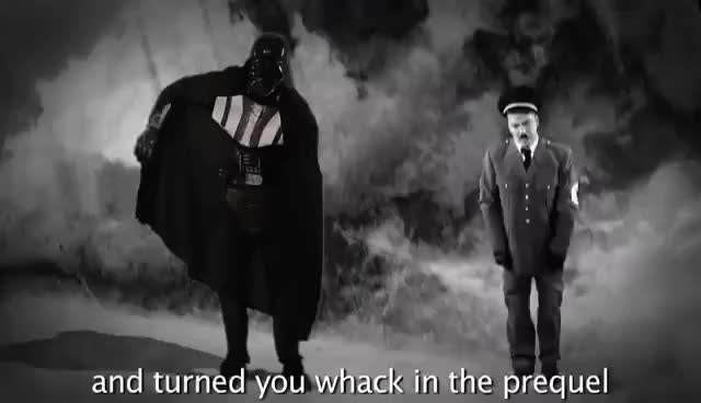 Watch this darth vader GIF on Gfycat. Discover more Adolt Hitler, Darth Vader, Epic Rap, Rap Battle, adolt hitler, darth vader, epic rap, rap battle, vader GIFs on Gfycat