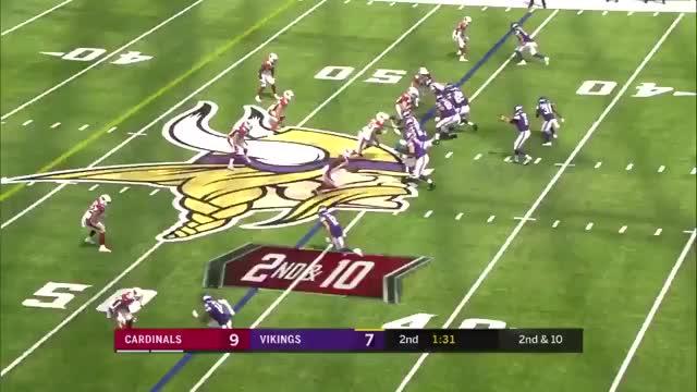 Watch and share Arizona Cardinals GIFs and Minnesota Vikings GIFs on Gfycat