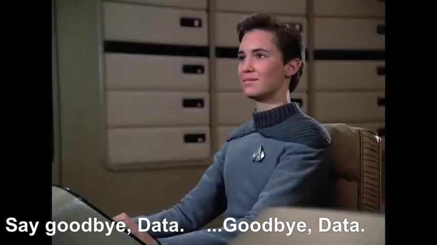 Lane, People & Blogs, data, okona, outrageous okona, star trek, tng, Star Trek, TNG, The Outrageous Okona,