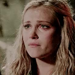 Watch and share Eliza Taylor GIFs and Cry GIFs on Gfycat