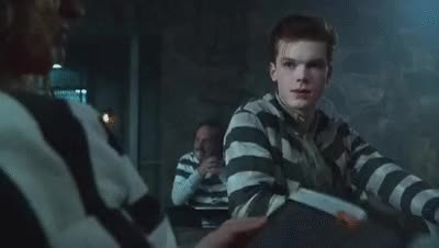 Watch Cameron Monaghan Scenes, Jerome   Gotham 201 GIF on Gfycat. Discover more cameron monaghan GIFs on Gfycat