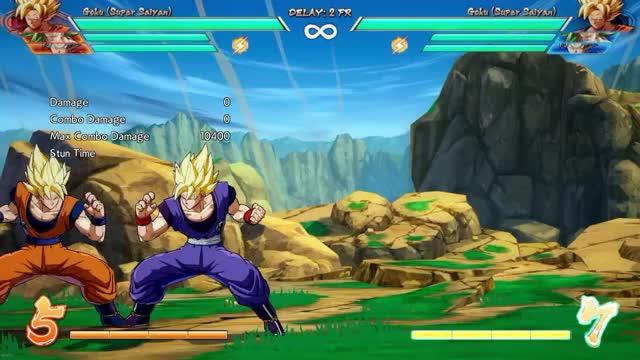 Watch and share Goku Flashy ToD GIFs on Gfycat