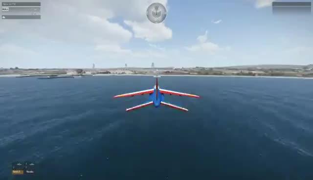 Alpha Jet, Suicide GIFs