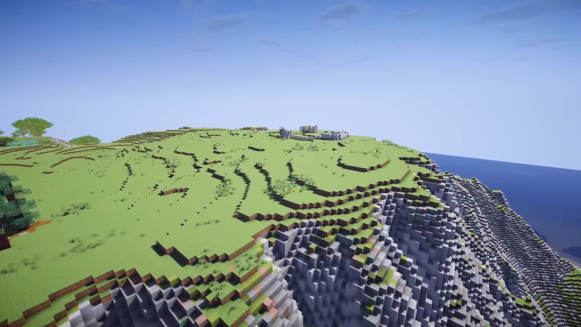 minecraft, timelapse, Incredible Minecraft build in timelapse GIFs