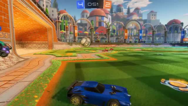 Watch Wall Ball Aerial Past Two Defenders GIF by @merryho on Gfycat. Discover more Aerial, Rocket League, Rocketleague, Rocketleaguegifs GIFs on Gfycat