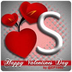 Watch and share Letter S Happy Valentines Day GIFs on Gfycat