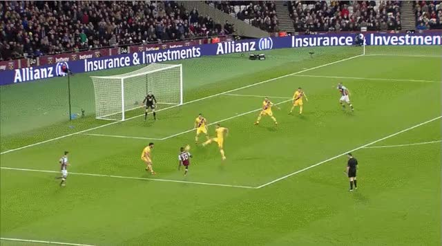 Watch and share Andy Carroll Goal V Crystal Palace GIFs by abcnews_australia on Gfycat