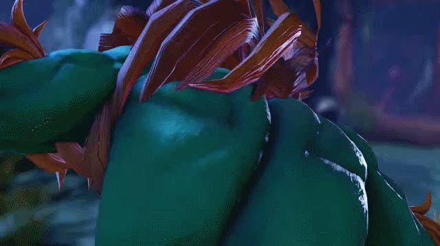 SFV, Street Fighter, Blanka - Win Pose GIFs