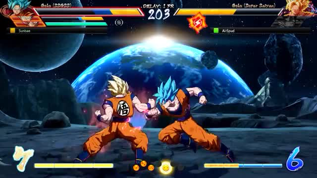 Watch ssb goku lvl 3  GIF by @sunbae on Gfycat. Discover more related GIFs on Gfycat