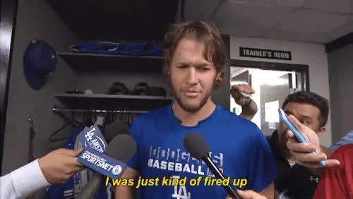 Watch and share Los Angeles Dodgers GIFs and Clayton Kershaw GIFs on Gfycat