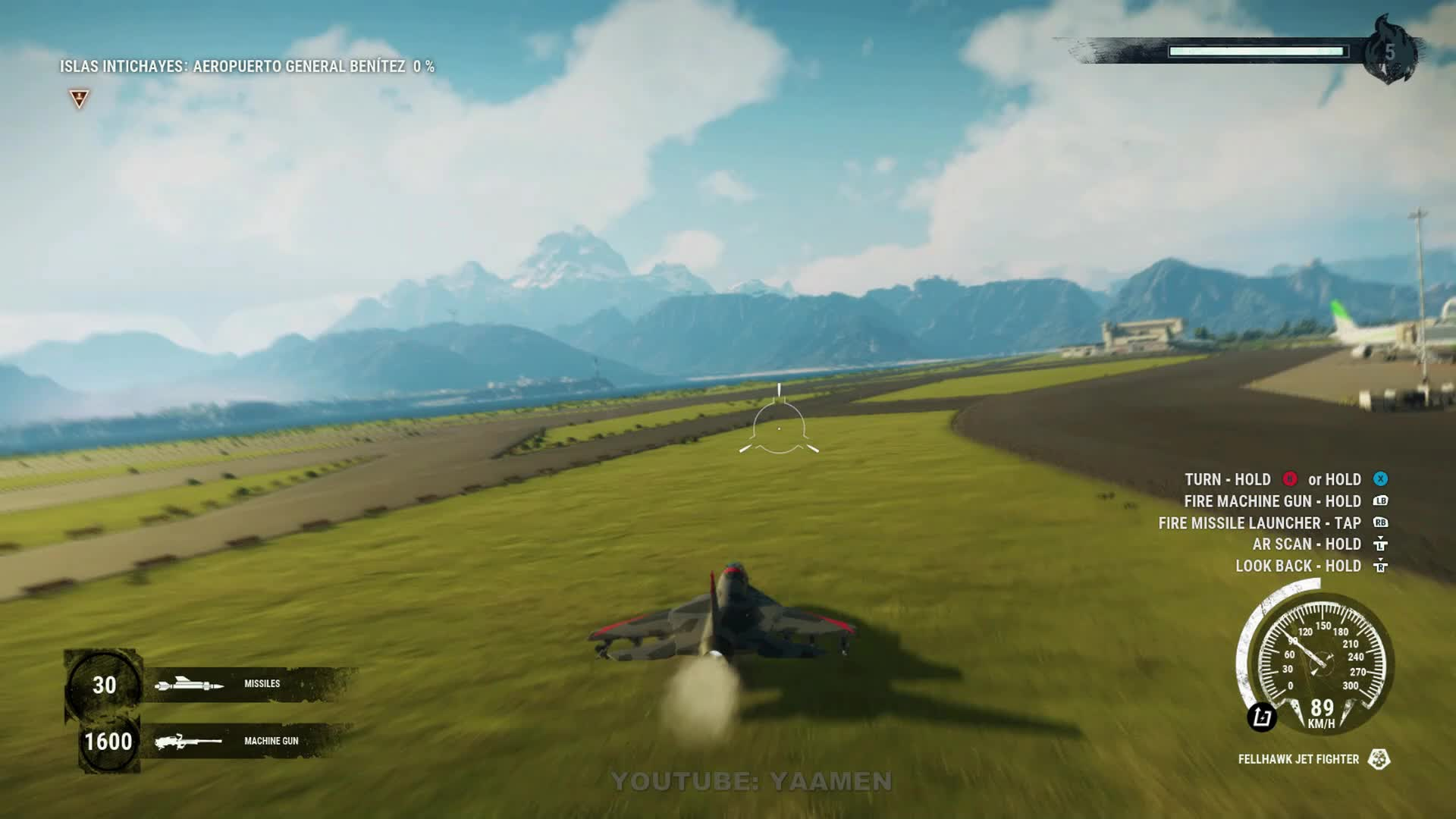 bug, flip, glitch, jet, just cause 4, square enix, JUST CAUSE 4 - FIGHTER JETS CAUSE ODD RESULTS AT AIRPORT GIFs