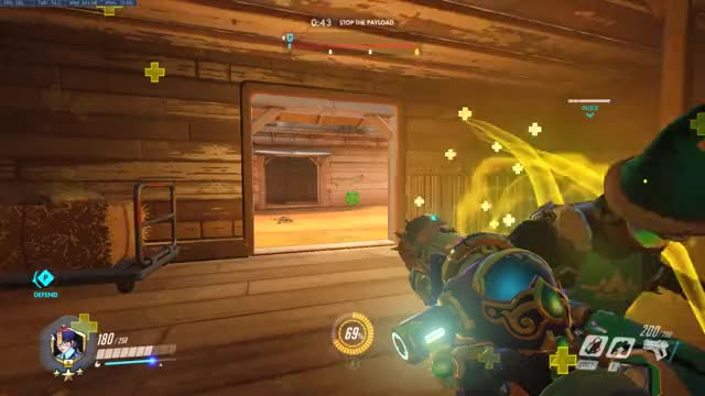 Watch and share Overwatch GIFs and Caps GIFs by Rady on Gfycat