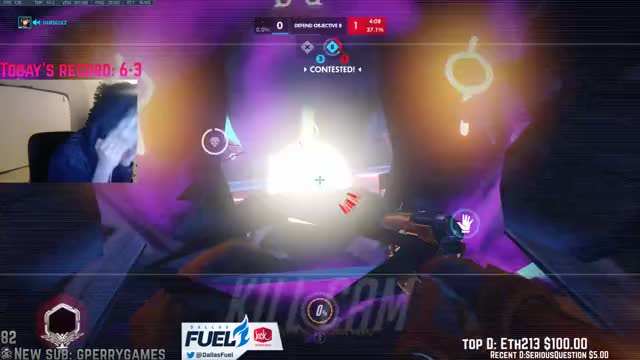 xQcOW Playing Overwatch - Twitch Clips