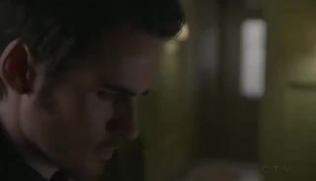 """Watch OUAT (4x12) -  """"Darkness on the Edge of Town"""" (Hook Scenes) - Part 3 GIF on Gfycat. Discover more related GIFs on Gfycat"""