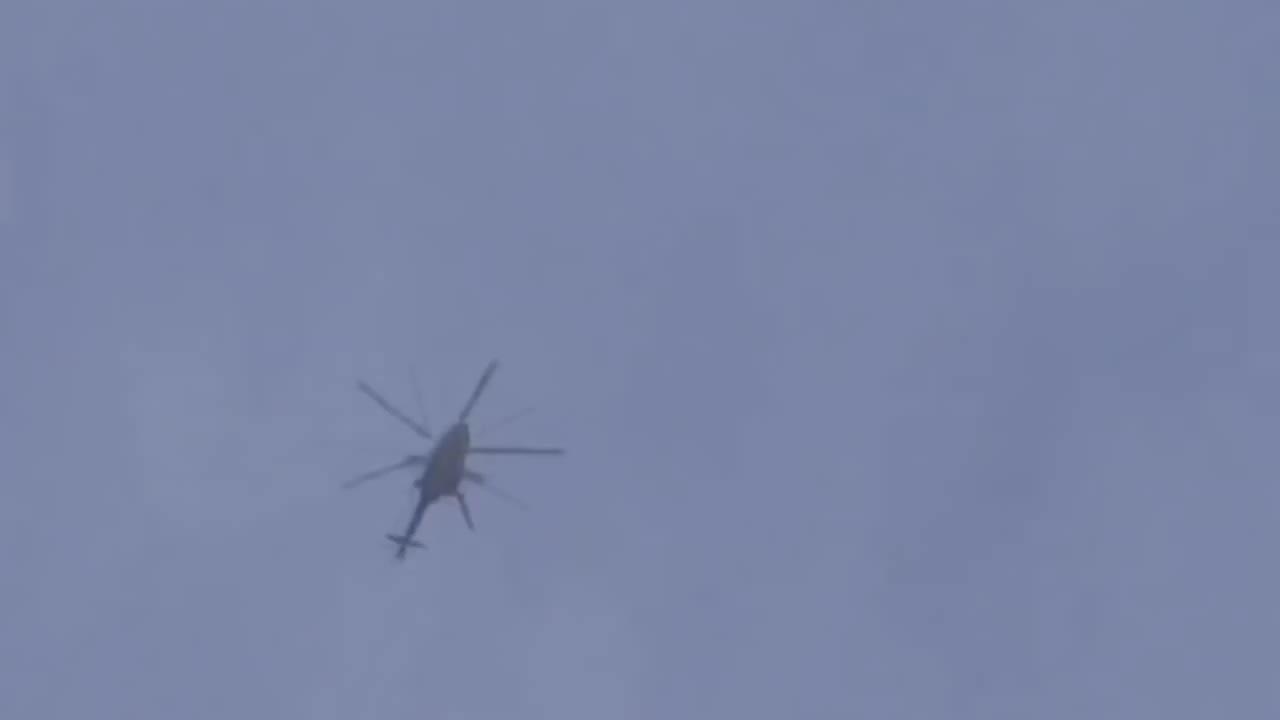 MissileGfys, missilegfys, SAM appears to barely miss chopper, Syria. (reddit) GIFs