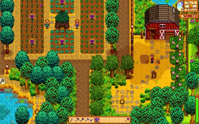Watch and share Tool Hit Location Reset - Stardew Valley (/u/SidewinderN7) GIFs on Gfycat