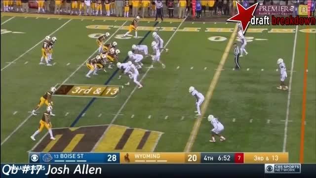 Watch and share Josh Allen Vs Boise State(2016) GIFs on Gfycat