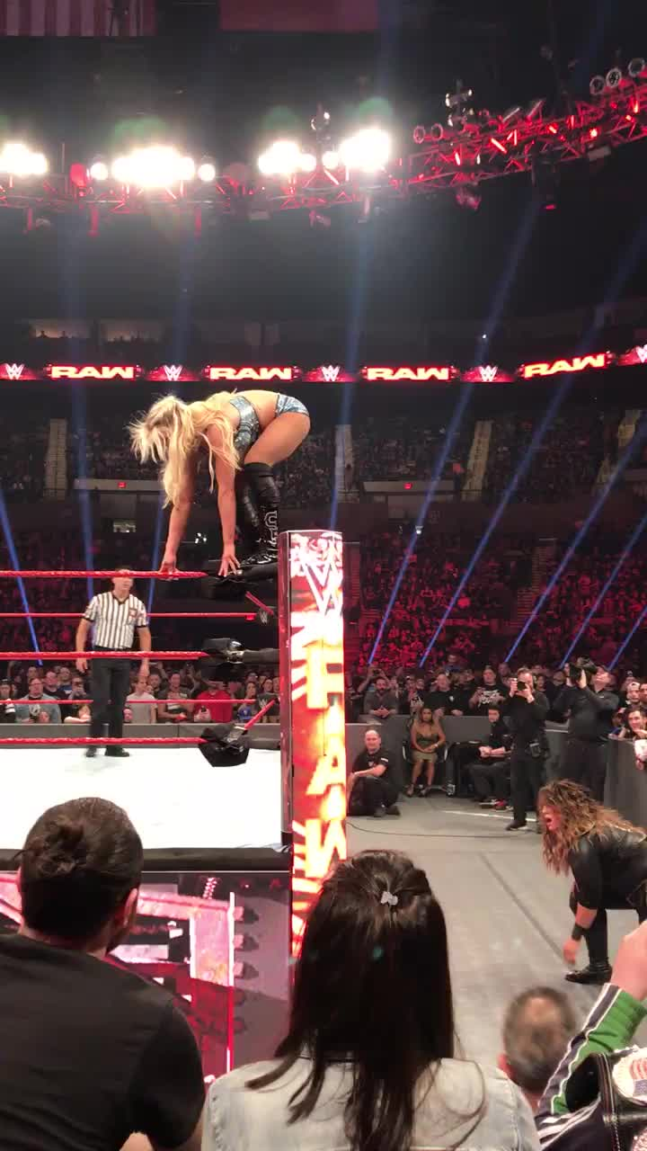 SquaredCircle, Charlotte Faceplant GIFs