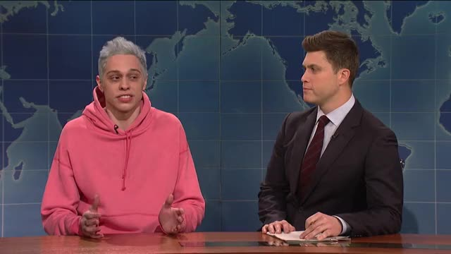 Watch this trending GIF on Gfycat. Discover more colin jost, michael che, nbc, saturday night live, season, snl, snl 44, snl host, snl season 44, weekend update GIFs on Gfycat