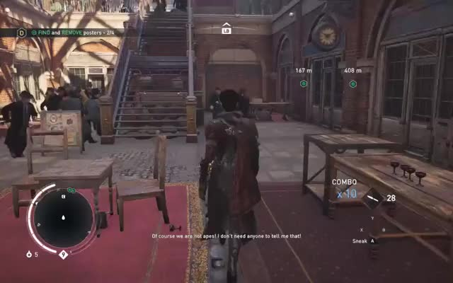 Assassin's Creed Syndicate video: #glitch People Under The Stairs