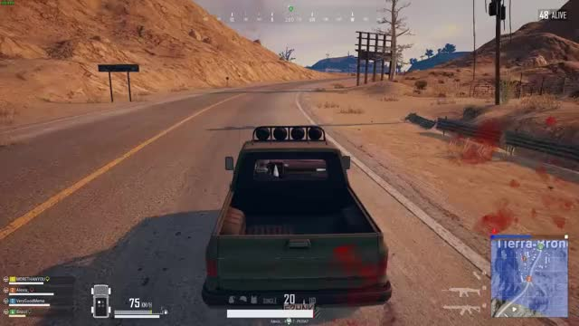 Watch PUBG GIF by Alexis (@missaleksandra) on Gfycat. Discover more car, fly, funny, pubg, what, wtf GIFs on Gfycat