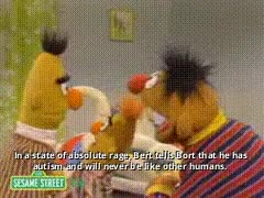 Watch and share Bert And Ernie Book GIFs on Gfycat