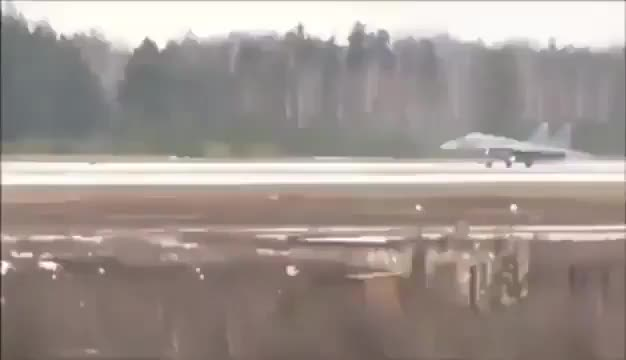 Watch and share Belarus Air Force MiG-29 Take Off Fail GIFs on Gfycat