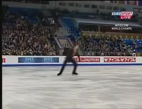 Watch and share Figure Skating GIFs and Brian Joubert GIFs on Gfycat