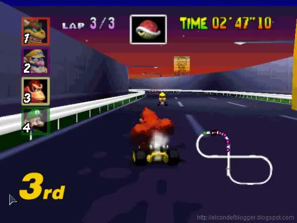 Watch and share Mario Kart GIFs on Gfycat