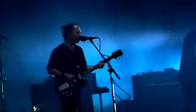 Watch and share Radiohead -  Manchester Emirates Old Trafford 4th July 2017 (Full Concert, HD Audio) GIFs on Gfycat