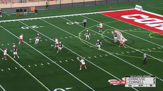 Watch and share Donville Goal, Assists Vs Syracuse GIFs by Lacrosse Film Room on Gfycat