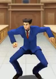 Watch and share Review: Phoenix Wright: Ace Attorney GIFs on Gfycat