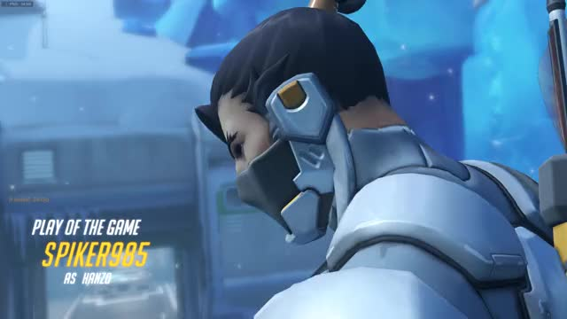 Watch and share Overwatch GIFs and Hanzo GIFs by spiker985 on Gfycat