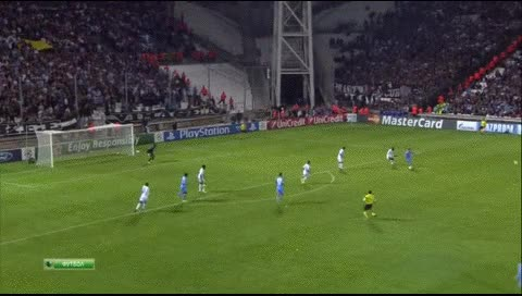 Watch and share Duvan Zapata. Marseille - Napoli. 22.10.2013 GIFs by fatalali on Gfycat