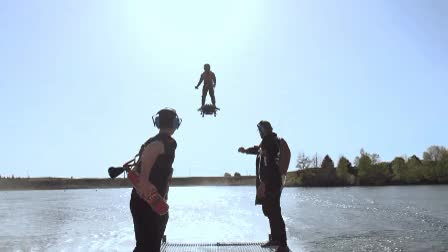 Watch Flyboard Landing GIF by Popular Science (@popsci) on Gfycat. Discover more related GIFs on Gfycat