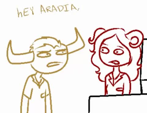 Watch and share Homestuck GIFs and Aradia GIFs on Gfycat