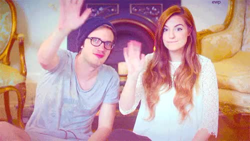 Watch and share Marzia Bisognin GIFs and Felix Kjellberg GIFs on Gfycat