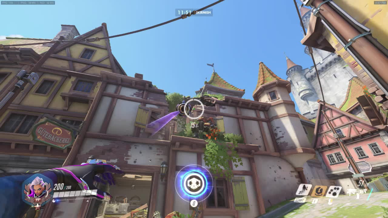Overwatch, OverwatchUniversity, overwatchuniversity, A compilation of Sombra flanks I've found on several different maps (reddit) GIFs