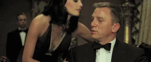 Watch this 007 GIF on Gfycat. Discover more 007, daniel craig, eva green, james bond GIFs on Gfycat