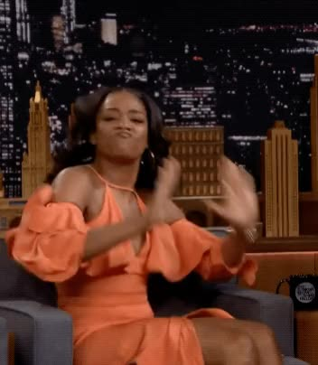 Watch this trending GIF by The GIF Smith (@sannahparker) on Gfycat. Discover more dance, dancing, excited, happy, hype, the tonight show, tiffany haddish, turn up GIFs on Gfycat